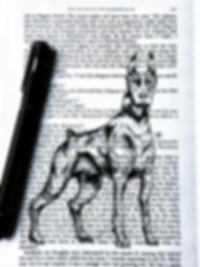 Hound of the Baskervilles. _I sketched t