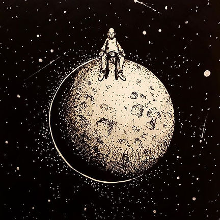 Inktober Day 15__Too the moon....jpg