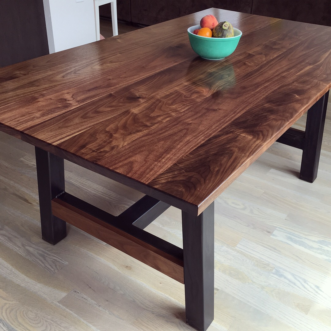 Walnut Farmhouse Table