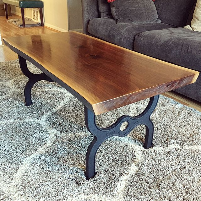 Blackened Edge Coffee Table
