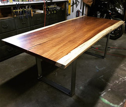Live Edge Parota Dining Table