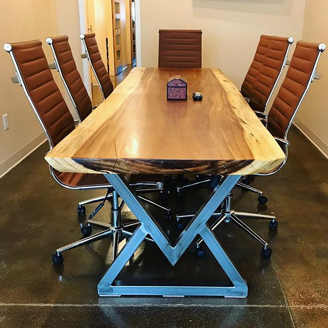 Ten Foot Parota Conference Table