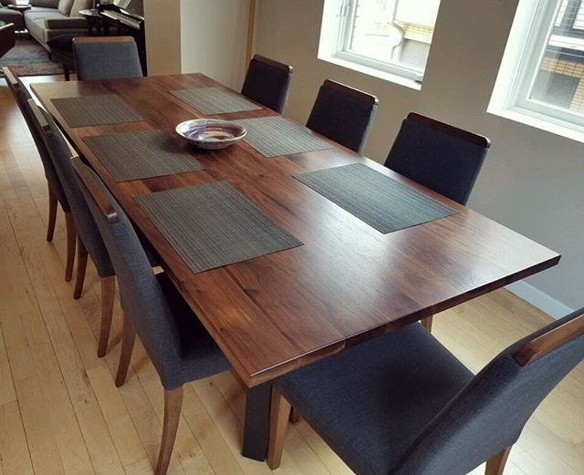 Eight-Foot Walnut Dining Table
