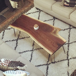 Claro Walnut Coffee Table