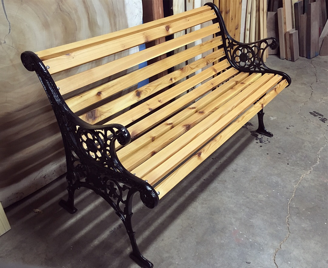 Antique Outdoor Bench Restoration