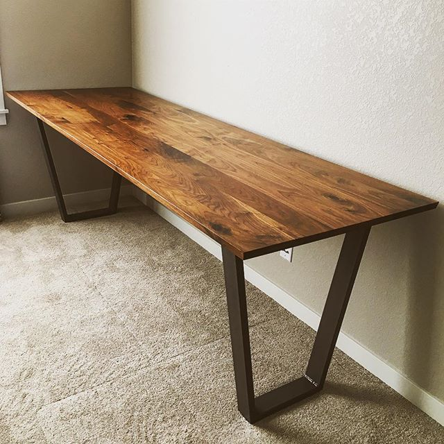 Eight Foot Walnut Desk
