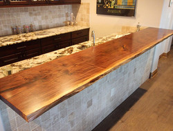 10-Foot Live Edge Bar Top