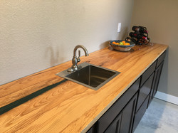 Curly White Ash Countertop