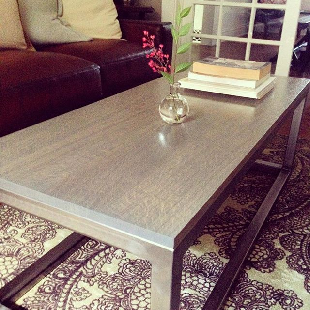 Quarter Sawn Oak Coffee Table