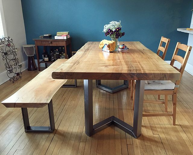 Silver Maple Dining Set