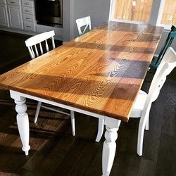 Nine Foot Ash Farmhouse Table