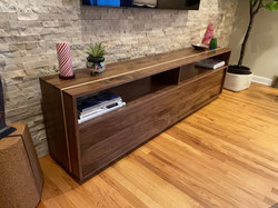 Walnut & Maple Media Cabinet