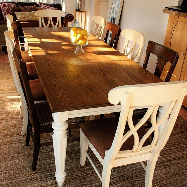 9-Foot Ash Farmhouse Table