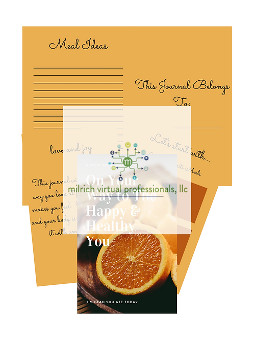 Citrus Food Journal