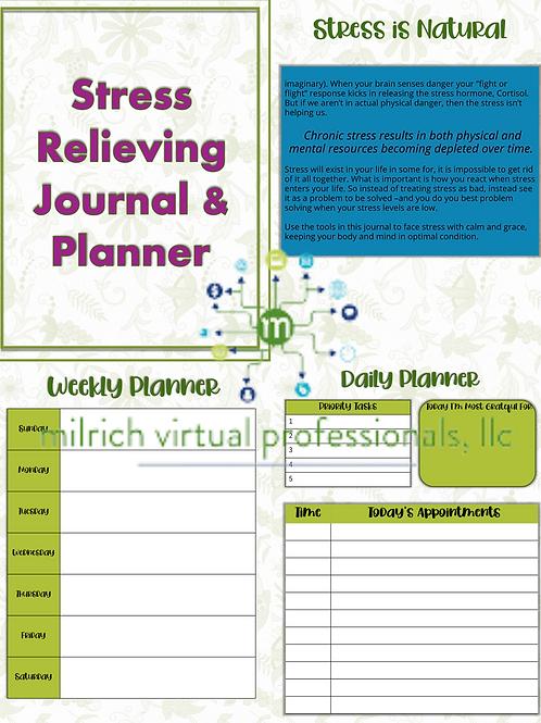 Stress Relief Journal