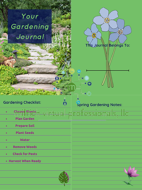 Your Gardening Journal