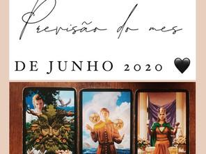 PREVISÃO DE TAROT    JUNHO 2020