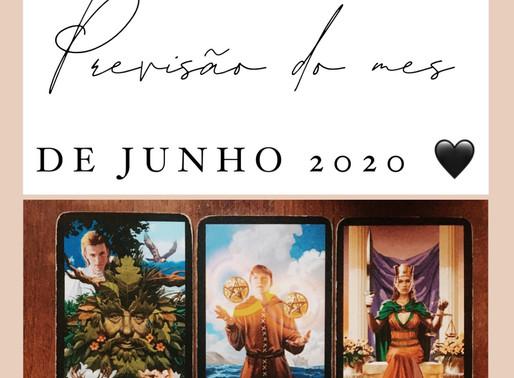 PREVISÃO DE TAROT || JUNHO 2020