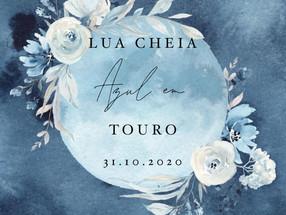 Lua Cheia Azul em Touro, 31 de Outubro 2020