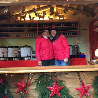 Weihnachtsmarkt - Benninghoffs Glühweinstand - Bad Hindelang