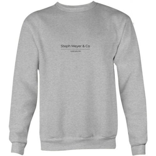 Unisex Crew Neck Jumper - Grey
