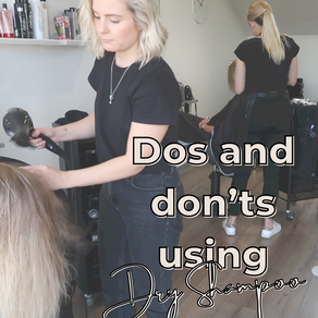 Dos and don'ts of Dry Shampoo