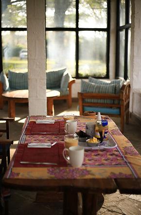 Breakfast Lake Naivasha