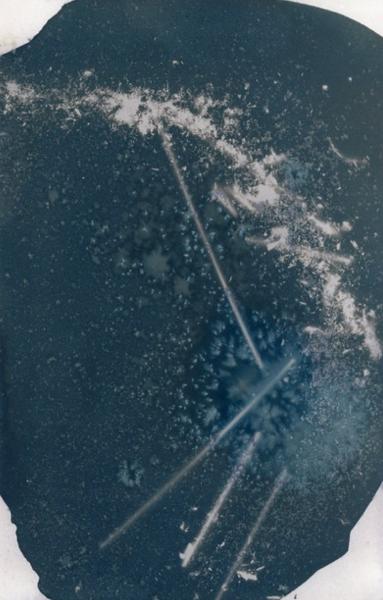 wet, cyanotype - spinning