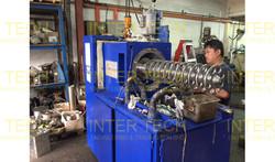 Drais Mannheim Horizontal Bead Mill Inspection
