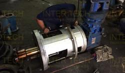 High Temperature Chemical Reactor Agitator (Old Unit Repair & Service)