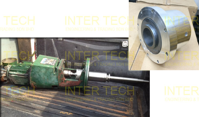 Lightnin Mixer LSS & SGS (Replace Shaft, Gear Pinion Set, Shut Off Nut & Mechanical Seal)