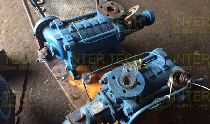 Sterling Sihi MSL MSM MSLA MSMA Horizontal Multistage Centrifugal Pump