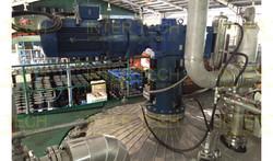High Temperature Chemical Reactor Agitator (Installed)