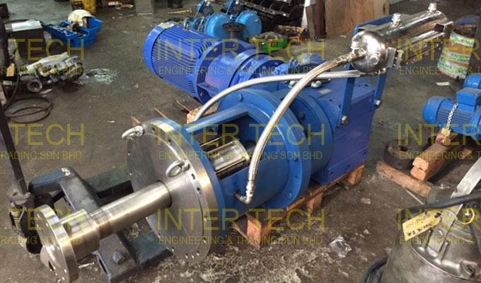 High Temperature Chemical Reactor Agitator (Project)