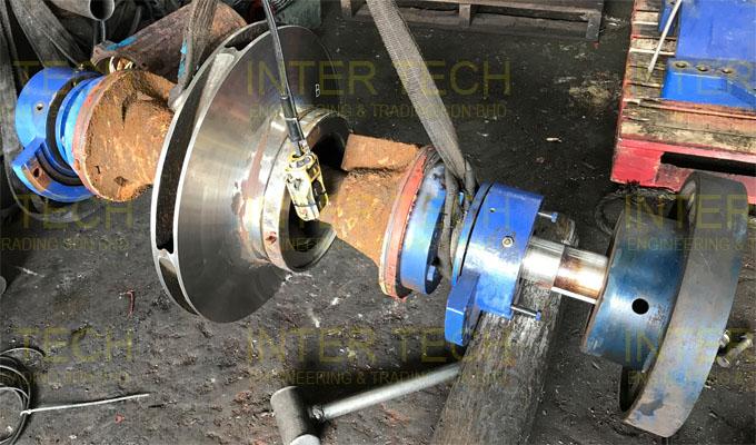 KSB Omega Split Case Pump Rotating Assembly