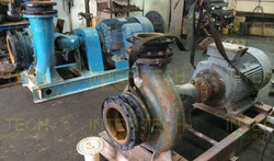 Grundfos Centrifugal Back Pull-Out Pump (Before)