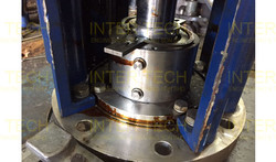 Ekato Agitator Service Repair - Mechanical Seal (Before Repair)