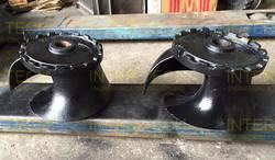 ABS Sulzer Contrablock Cast Iron Impeller