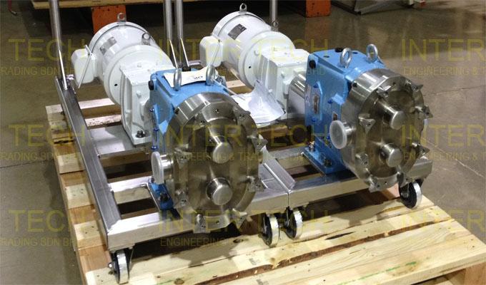 Waukesha U1 Universal I Lobe Pump