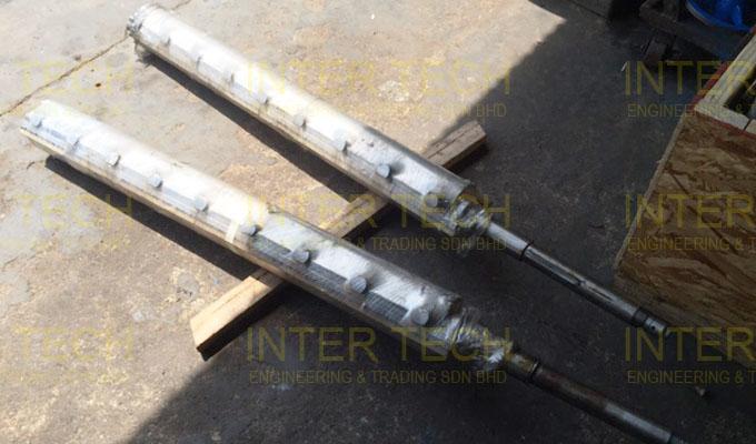 Gerstenberg Schroder SSHE Scraped Surface Heat Exchanger
