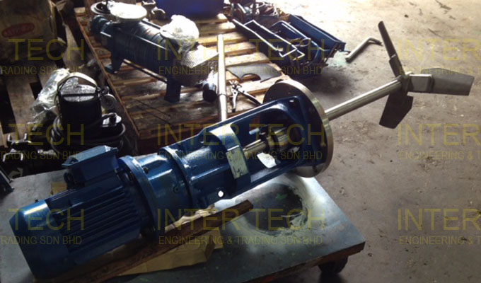 Sunkaier Side Entry Mixer Service & Repair (Replace Shaft, Gear Pinion Set & Mechanical Seal)