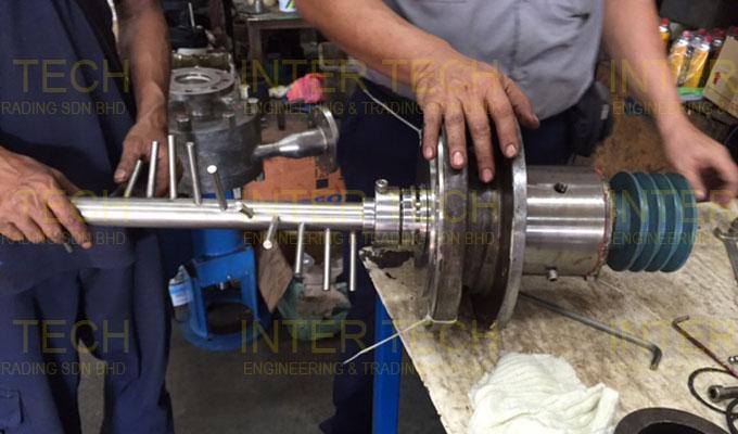 Combinator Scraped Surface Heat Exchanger