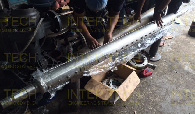 Alfa Laval Scraped Surface Heat Exchanger