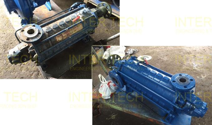 Speck Pumpen ES 320 ES 400 ES 500 Horizontal Multistage Pump
