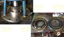 Geppert Ruhrtechnik Mixer - Mechanical Seal (Before Repair)