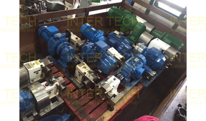 APV CL & Inoxpa SLR Lobe Pump Retrofit