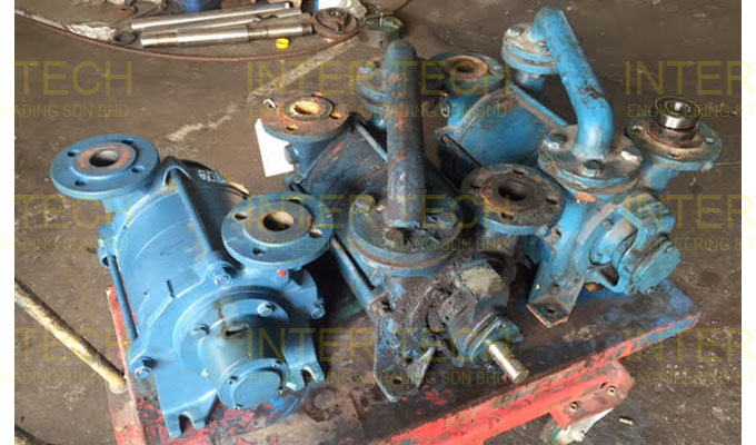 Sihi Liquid Ring Vacuum Pump LPHE LPHX