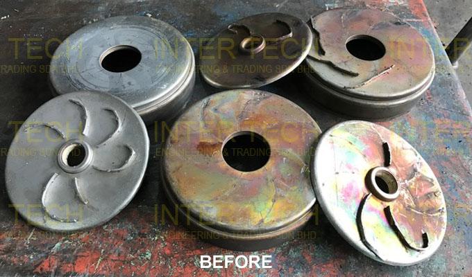 KSB LHS 6 Stage Casing Repair (Before)