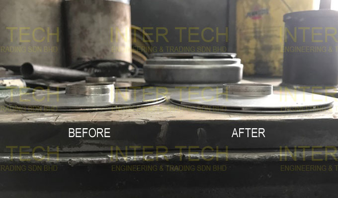 KSB LHS 6 Impeller Repair (Before & After)