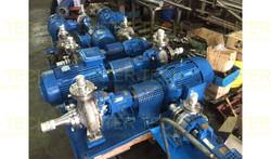 KSB Megachem Centrifugal End Suction Process Pumps Retrofit